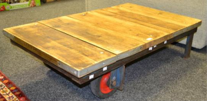 bamfords auctioneers salvage coffee table