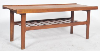 vintage mid century teak mag rack east bristol auctioneers